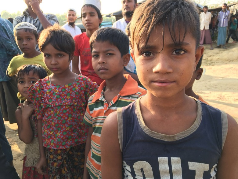 Yvonne Ridley is documenting the plight of the Rohingya for WTX News - on the ground in Bangaldesh